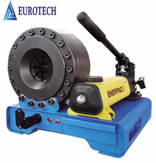 Mannul hose crimping machine